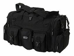 "NPUSA Mens Large 22"" Inch Black Duffel Duffle Military Molle"