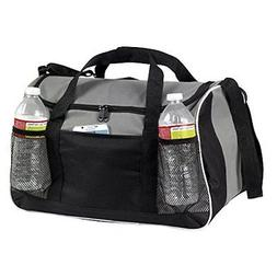 """BuyAgain Duffle Bag, 17"""" Small Travel Carry On Sport Duffel"""