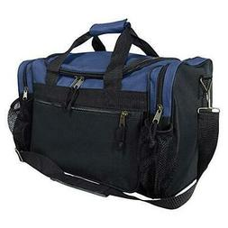 "DALIX 17"" Duffle Travel Bag with Dual Front Mesh Pockets in"
