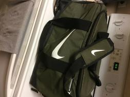 Nike Duffle Bag Sport Gym Bag Mens Olive Green
