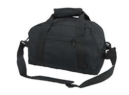 "DALIX 14"" Small Duffle Bag Two Toned Gym Travel Bag"