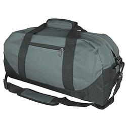 "iEquip 12"" 14"" 18"" 21"" Duffle Bag, Gym, Travel Bag Two Tone"