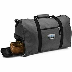 Shacke's Durable Travel Duffel Flight Bag Carry On Luggage S