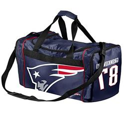 New England Patriots Official NFL Duffel Gym Bag - Rob Gronk