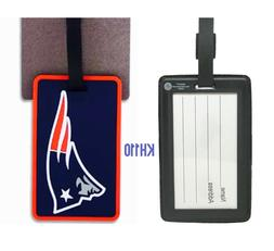 New England Patriots Rubber Bag Tag