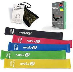 Limm Exercise Resistance Loop Bands - Set of 5 12-inch Worko