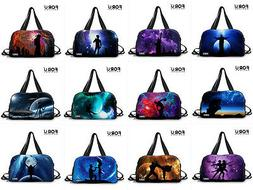 Fashion Men/Women Travel Luggage Bag Duffle Gym Bag Sports Y