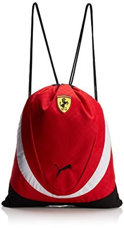 PUMA Men's Ferrari Replica Gym Sack Bag, Red, One Size