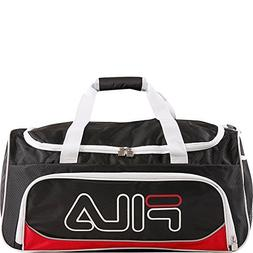 Editorial Pick Fila Fieldcrest Medium Sports Duffel Gym Bag 687057adb900f