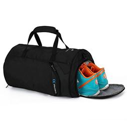 INOXTO Fitness Sport Small Gym Bag with Shoes Compartment Wa