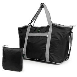Lavievert Foldable Travel Duffle Bag Attached to Luggage Spo