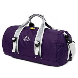 OUTRY Foldable Travel Duffle Bag, Lightweight Sports Gym Duf