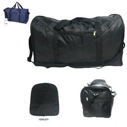 Foldable Duffle Duffel Bag Bags Sports Gym Workout Luggage T