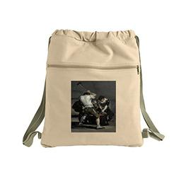 The Forge  Canvas Dyed Sack Backpack Bag