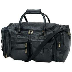 Embassy 21 in. Genuine Leather Tote Bag