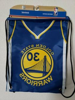 * Golden State Warriors Official NBA Drawstring Backpack Gym