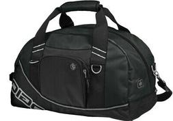 OGIO GOLF HALF DOME DUFFLE BAG/ GYM BAG- BLACK