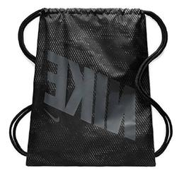 NIKE Kids' Graphic Gym Sack Black/Grey