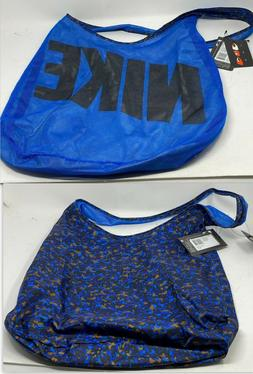 Nike Graphic Reversible Tote Gym Bag Blue  Shoulder Athletic
