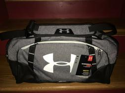 UNDER ARMOUR GREY/BLACK UNDENIABLE 3.0 SMALL DUFFLE BAG