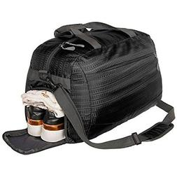 Coreal sport gym bag duffel bag with shoes compartment for m