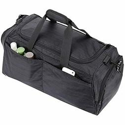 MIER Gym Bag Women And Men Sports Duffle With Shoe Compartme