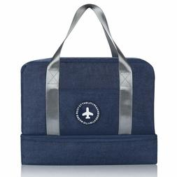 Gym Bag with Shoe Compartment and Wet Pocket Sports Gym Bag