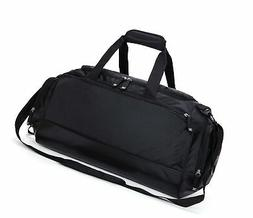 MIER Gym Bag with Shoe Compartment Men Travel Sports Duffel,