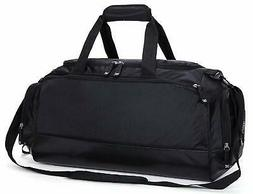 Gym Bag with Shoe Compartment Men Travel Sports Duffel, 24 i