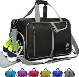 Gym Bags for Women and Men - Small Packable Sports Duffle Ba