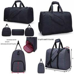 MIER Gym Duffel Bag For Men & Women W Shoe Compartment Carry