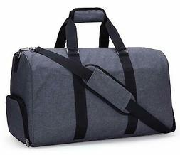 Gym Duffel Bag for Men and Women with Shoe Compartment, Carr
