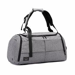 Gym Duffel Bags, 55L Canvas Travel Luggage Bag, Waterproof G