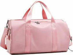 Gym Duffel Travel Bag for Women Ladies Sport Tote Bag with S