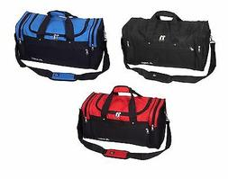 """Gym Sport Travel Bag Work out All Purpose Duffel NEW 22"""" S21"""