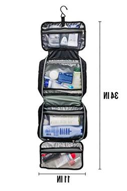 4dde05bde6a1 Hanging Toiletry Travel Bag Kit for Men and