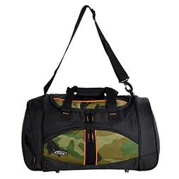 "Olympia Heavy Duty Nomad Camouflage 25"" Sports Duffle Duff"