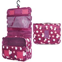 Heavy Duty Waterproof Hanging Toiletry Bag - Travel Cosmetic