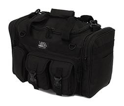 "Mens 18"" Inch Black Duffel Duffle Molle Tactical Carry On Sh"