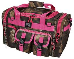 "Mens 18"" Inch Hunters Camo Pink Duffel Molle Tactical Gear S"