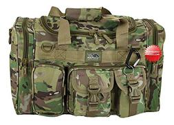 "NPUSA 18"" Inch Multicam Duffel Duffle Molle Tactical Carry O"