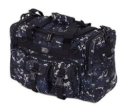 "Mens 18"" Inch Navy Digital Camo Military Molle Tactical Gear"