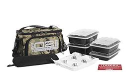 Isolator Fitness 2 Meal ISOMINI Meal Prep Management Insulat