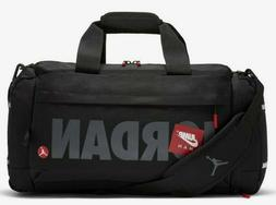 aff698b3d7 Nike Jordan Brasilia 6 MEDIUM Duffel 24 Gym Bag BA5334 BLACK