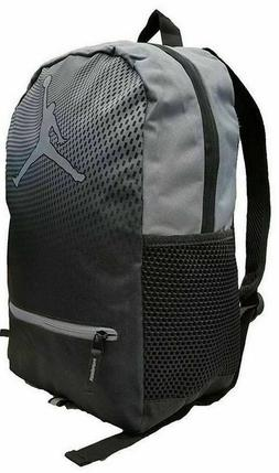 NIKE AIR JORDAN Jumpman Backpack School gym Bag Laptop gray