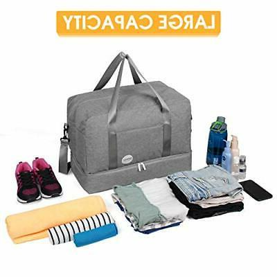 WANDF Gym Bag Sports with Shoes