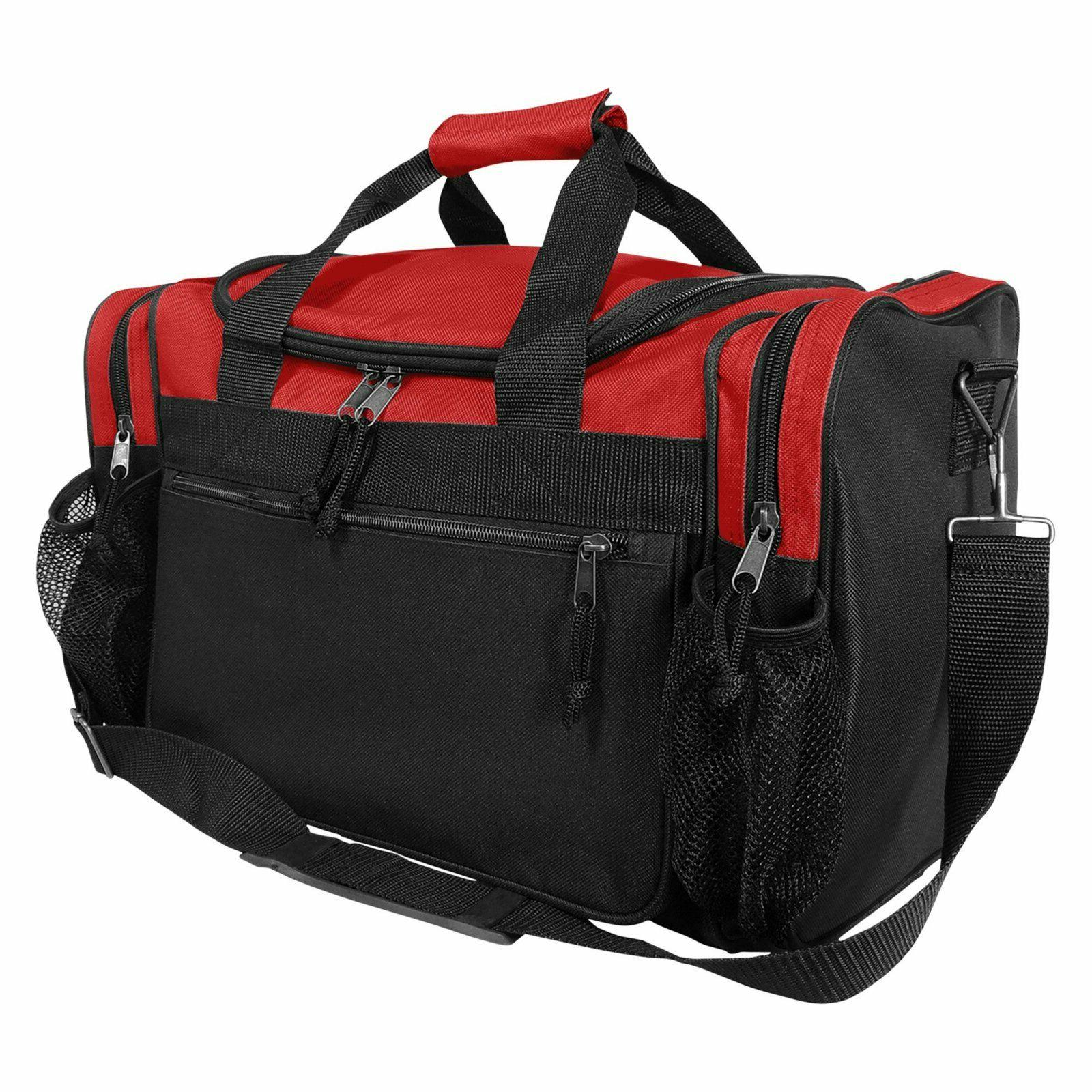 17 duffle travel bag with dual front
