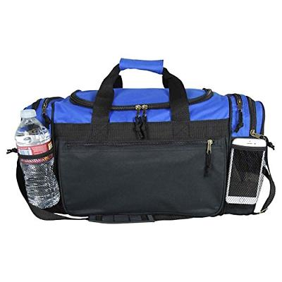 Dalix 20 Duffle Bag with and Valuables Pockets, Royal Blue