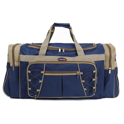 "25"" Duffle Blue Tote New"