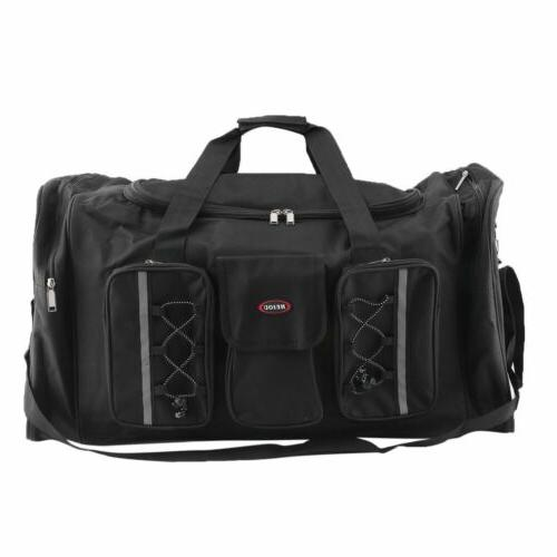 "26"" Heavy Duty Gym Sports Bag Travel Shoulder Luggage"